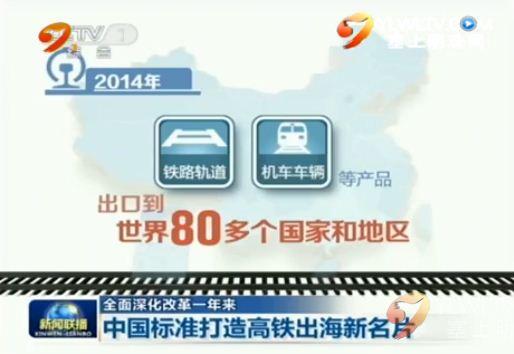 点击观看《【全面深化改革一年来】中国标准打造高铁出海新名片》