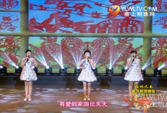 點擊觀看《2015榆林春晚——紅窗花(歌舞)》