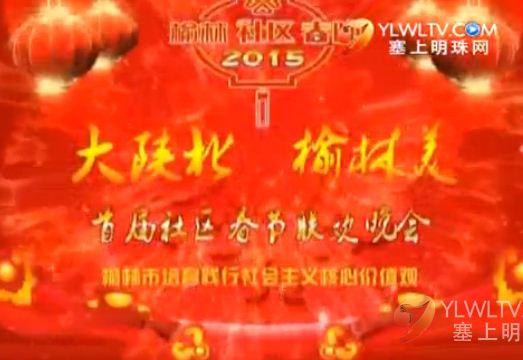 """2015""""大陕北 榆林美""""榆林市首届社区春节联欢晚会(上)"""